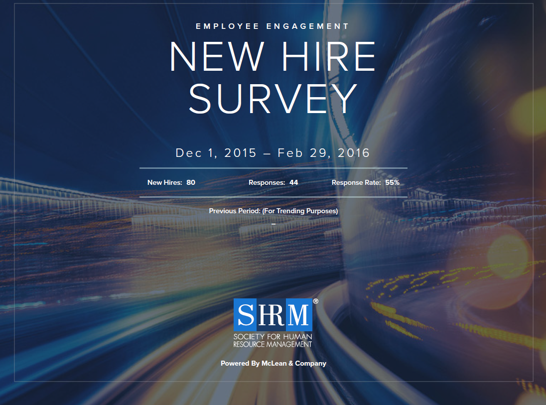 New Hire Survey