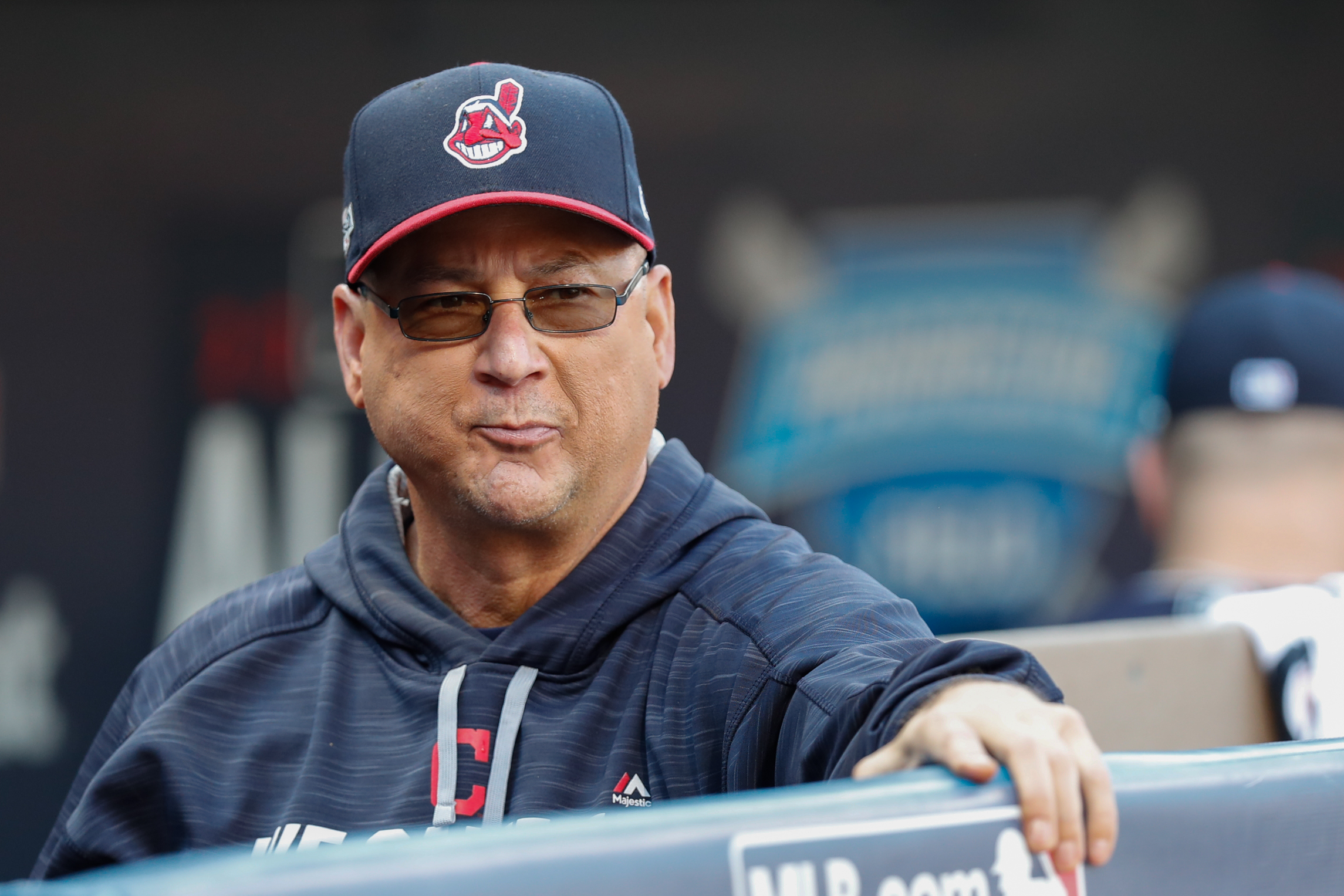Cleveland Indians manager Terry Francona.