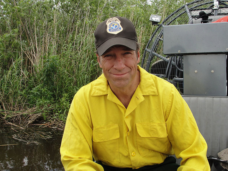 Mike Rowe - Photo by U.S. Fish and Wildlife Service