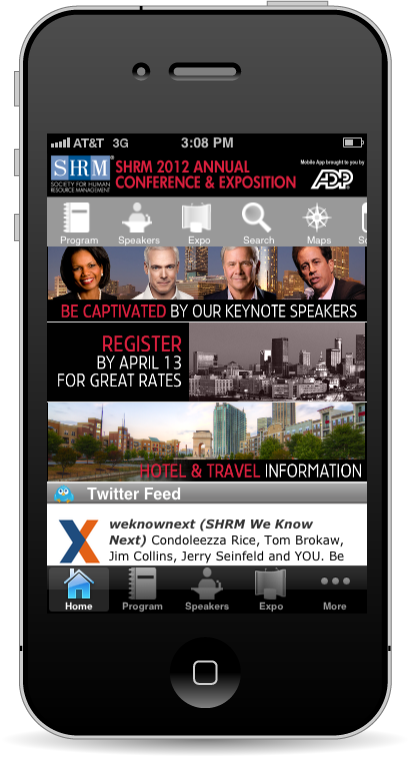 2012 Annual Mobile App image
