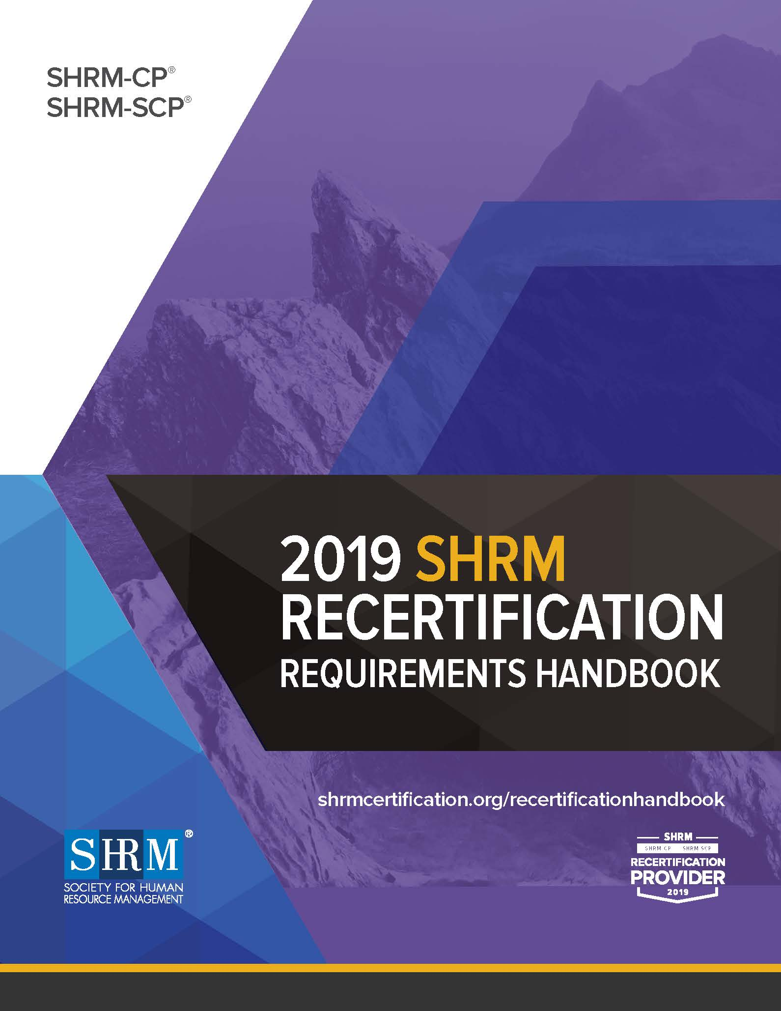 SHRM Recertification Handbook