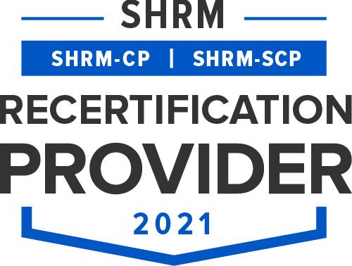 Image result for shrm recertification provider logo