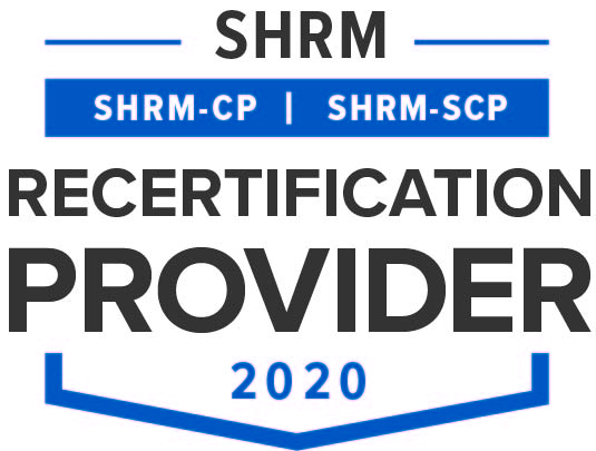 Image result for shrm certification logo""